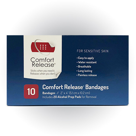 2″ Comfort Release Bandages
