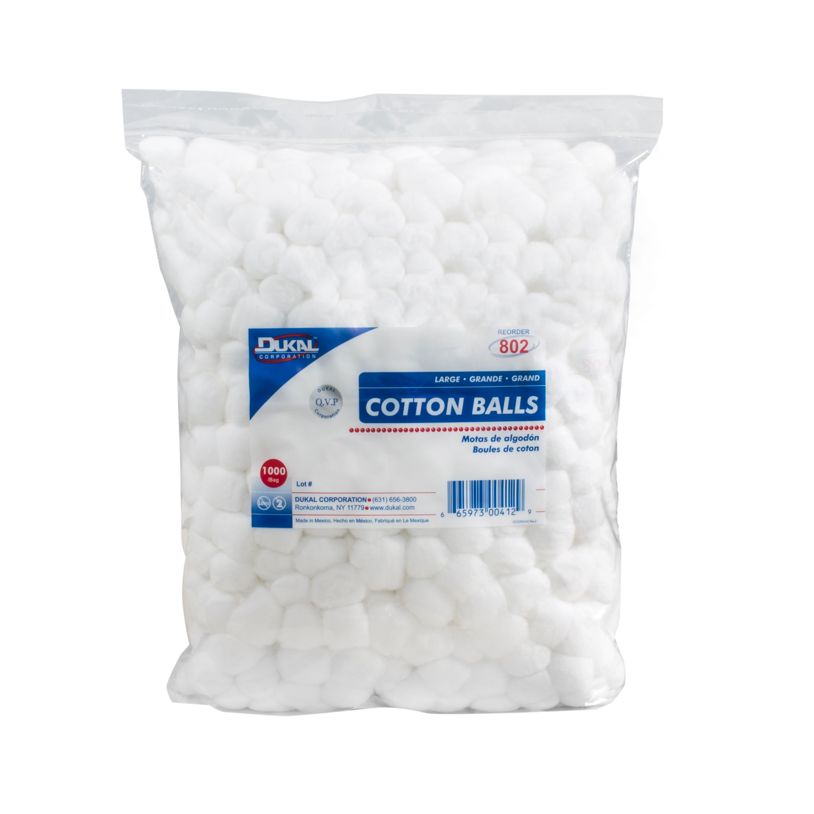 Dukal Large Cotton Balls